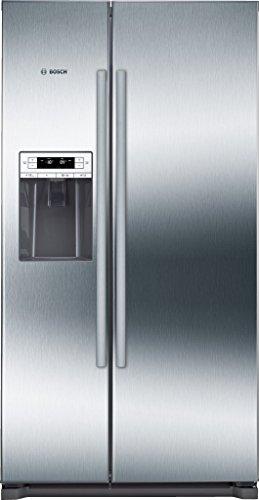 Bosch KAD90VI30 nevera puerta lado a lado - Frigorífico side-by-side (Independiente, Acero inoxidable, Puerta americana, 533L, SN, T, 41 Db)