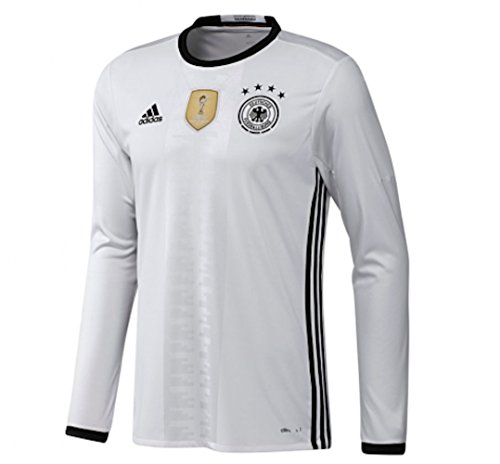 Men's Germany Home L/S Soccer Jersey Euro 2016