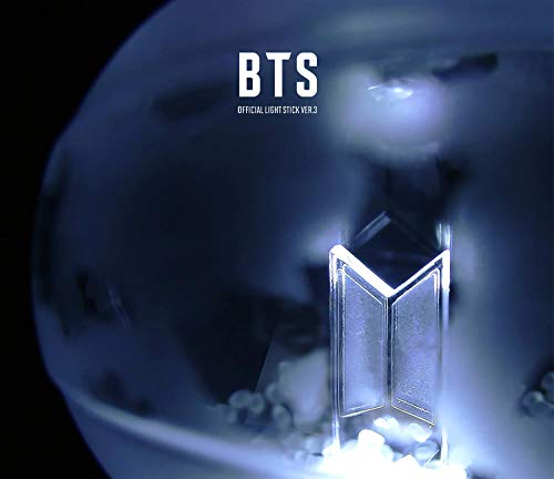 BTS Light Stick Army Bomb ver.3 + 7 Pre-Order Official Photocards + Extra Gift Photocards Set.