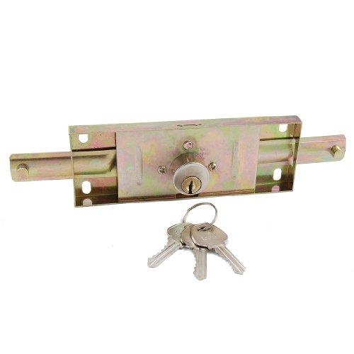 Deurslot voor roldeuren van metaal voor magazijn/garage/werkplaats, deurslot met 3 sleutels