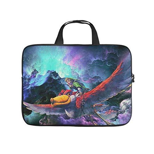Zelda Laptop Case Bag Neoprene Laptop Bag Case for Work/Business/School/College/Travel White 17 Zoll