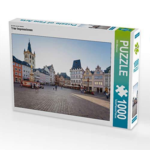 CALVENDO Puzzle Trier Impressionen 1000 Teile Lege-Größe 64 x 48 cm Foto-Puzzle Bild von Dirk Meutzner