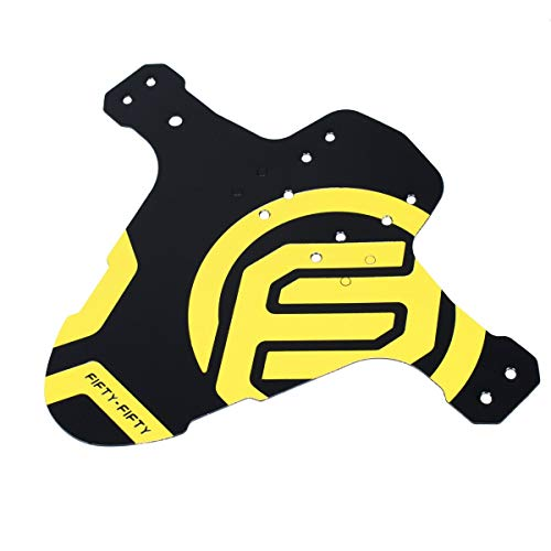 FIFTY-FIFTY - Parafango per mountain bike, 26-29', colore: giallo