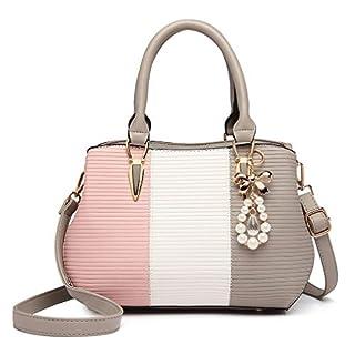 scheda miss lulu borsa a mano borsa a tracolla multicolore borsa da donna borsa a spalla tote top elegante