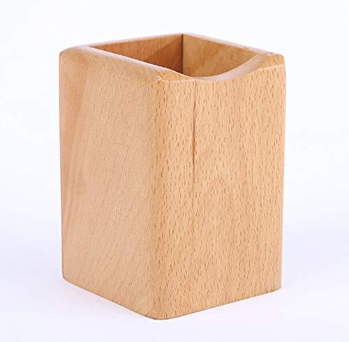 【ヘルスリーフ】 木製無垢ペンスタンド ペン入れ 天然木 天然杢 ペン立て 鉛筆立て