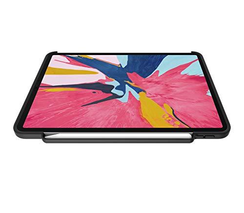 Khomo beschermhoes voor iPad Pro 11 (2018), ultradun en licht, compatibel met toetsenbord en Apple Pencil 2, donkergrijs