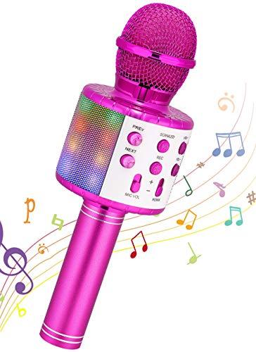 Wireless Karaoke Microphone, Ankuka Handheld Bluetooth Microphones Speaker...
