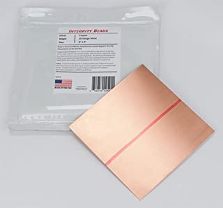 Copper 20 Gauge Sheet - 6