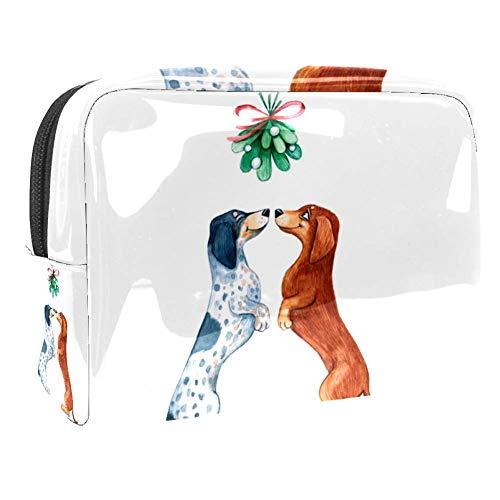 TIZORAX Sac cosmétique en PVC pour chien