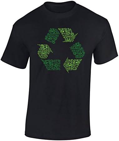 Camiseta de Bicileta: Bicis y Reciclaje