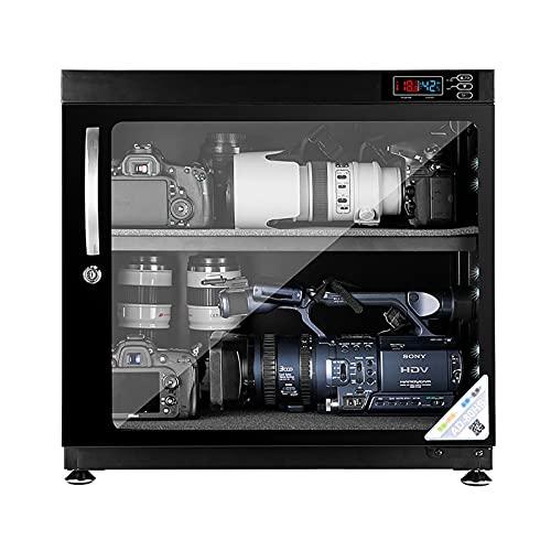 Camera Dehumidifying Dry Cabinet 80L electronic moisture proof box SLR camera drying box photographic equipment lens camera Tempered glass door Noiseless Energy Saving