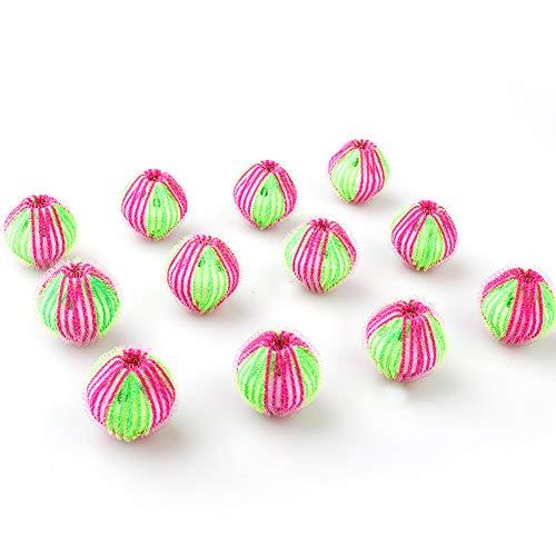 TAKEFUNS 12 pelotas para eliminar pelos de mascotas, no tóxicas, reutilizables, para secadora, para ahorrar tiempo de secado de ropa para la lavandería, lavadora.