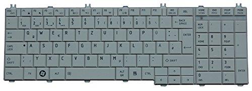 NExpert deutsche QWERTZ Tastatur Toshiba Satellite L750 L755 L770 L775 Series DE Neu Weiss