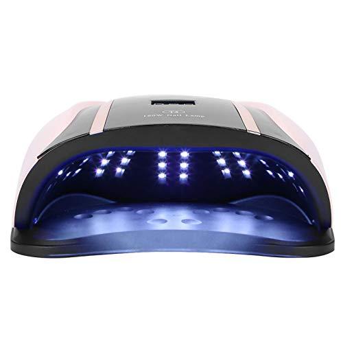 Secador de Esmalte de uñas, lámpara de uñas UV fácil de Limpiar, 54 Cuentas LED para niña Mujer(European regulations)