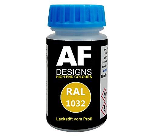 Alex Flittner Designs Lackstift RAL 1032 GINSTERGELB glänzend 50ml schnelltrocknend Acryl