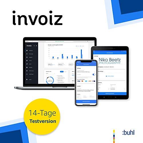 invoiz - Das Finanz- und Rechnungsprogramm für Selbstständige | 14-Tage Testversion | Web Browser | Abonnement - Kostenlos testen