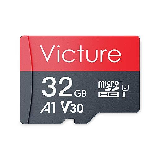 Victure 32GB TF Karte Ultra MicroSDHC Speicherkarte Klasse 10 A1, U3, V30 für Smartphone, Kamera, PC