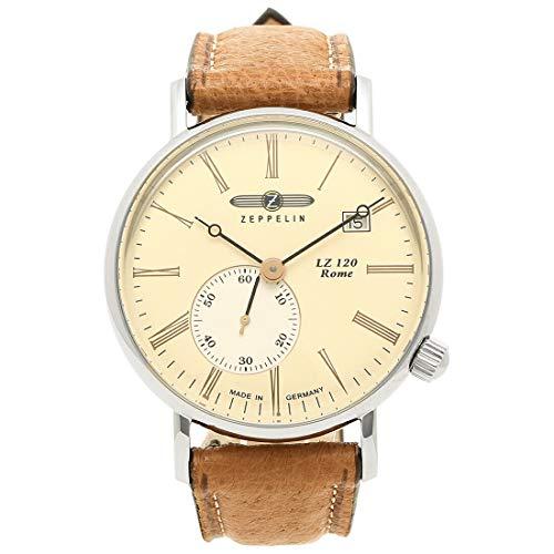 [ツェッペリン]腕時計 メンズ ZEPPELIN 7135-5 アイボリー ブラウン [並行輸入品]