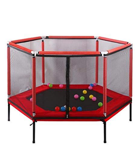 LuoMei Rebounder Bounce Trampoline Fitness para Niños con Cerca de Malla Colchoneta de Salto Y Acolchado para Trampolín Elástico Jumping Fitness Trampoline Trampolín de Interior Al Aire Libre para En