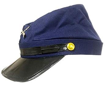 Civil War Union Blue Kepi Replica Hat Medium
