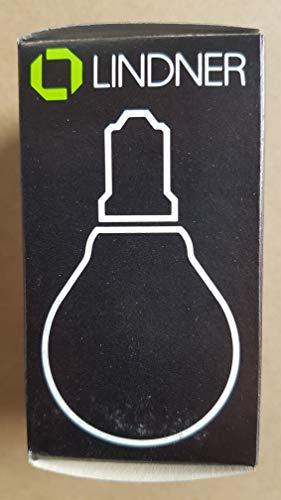 Glühbirne Tropfenform 60 W 25 Stk. Klar E14