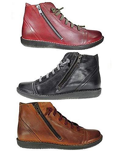 Botines Boleta Shoes 3012 Corte-Piel,Forro-Piel,Plantilla-Piel. Tacón:3cm. Hecho en España.
