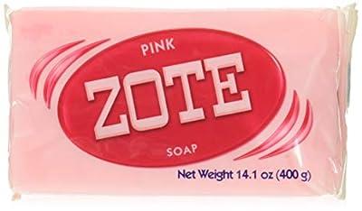 Zote Jabón rosa unidades