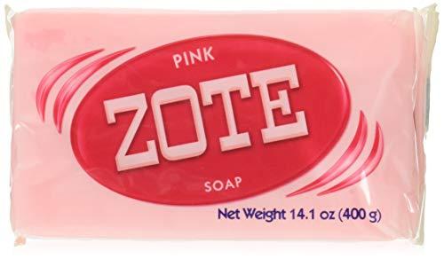 Zote - Jabón rosa (3 unidades, 14 onzas)