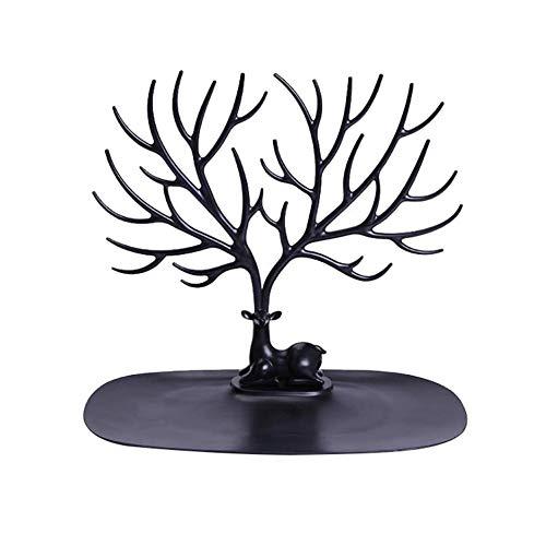 Namgiy - Porta Joyas con Forma de Ciervos, Expositor para Colgar, Organizador para Pendientes, Collares, Pulseras, Regalo para Mujer