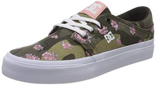 DC Shoes Damen Trase TX SE Sneaker, Mehrfarbig (Camo CMO), 36 EU