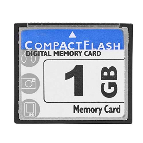 Demiawaking Scheda di Memoria CF ad Alta Velocità Scheda Compact Flash per Macchina Fotografica Digitale Computer Portatile Macchina Pubblicitaria (1GB)