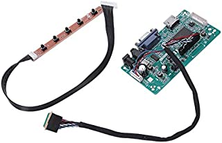 30 Pins Hdmi Vga Input Controller Board Kit LCD Edp Driver Board for 1080P B156Han01.1 Lp156Wf4 Raspberry Pi 3 Laptop LCD ...