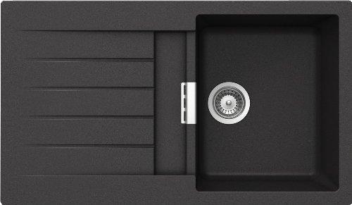 Schock Küchenspüle Primus D-100, Auflage in Onyx
