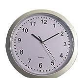 Greatangle Único Novedad Dinero joyería contenedor de Almacenamiento Caja de Almacenamiento mecánico Reloj ABS Reloj de Pared Caja Fuerte Caja Blanca