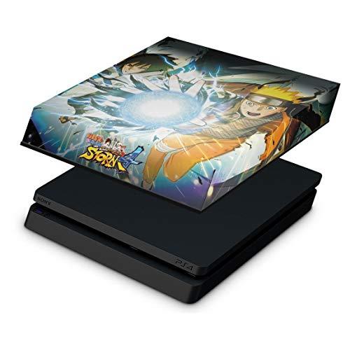 Capa Anti Poeira para PS4 Slim - Naruto Shippuden: Ultimate Ninja Storm 4