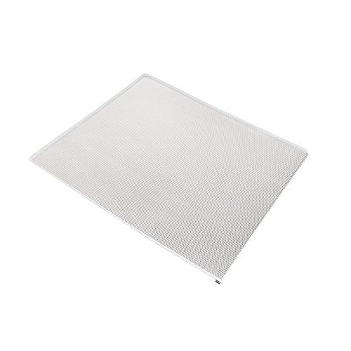 Emuca Protector fondo mueble cocina, fondo fregadero M60, 568 x 580 mm, espesor 16 mm, Aluminio
