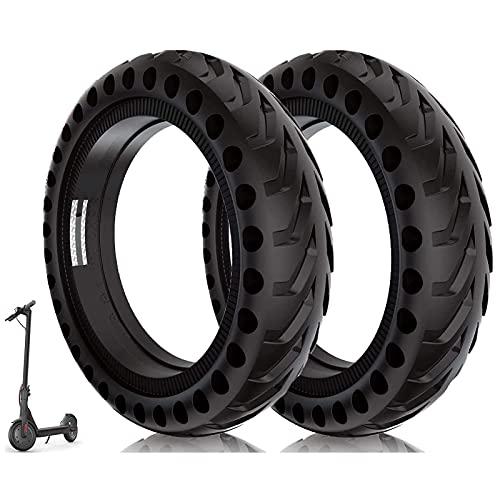 Llantas sólidas Ruedas de Scooter eléctrico de 8.5 Pulgadas Neumático de Repuesto de 8-1/2 '' Neumáticos Delanteros o Traseros de Panal para Xiaomi Mijia M365 y más Neumáticos de Scooter duraderos