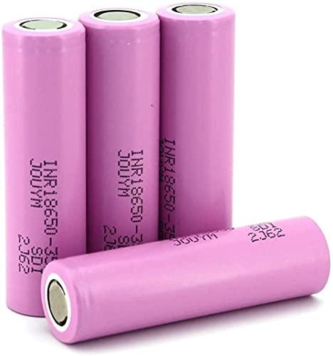 Batterie ricaricabili Li-Ion 3 7V 3500mAh 18650 celle INR18650 35E 4pcs