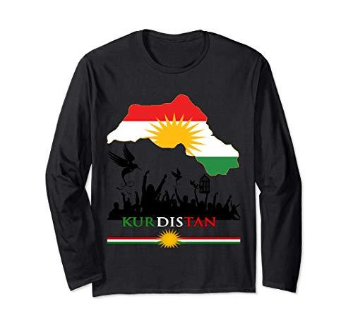 Kurditsan Tshirt , YPG Tshirt , YPJ Tshirt Langarmshirt