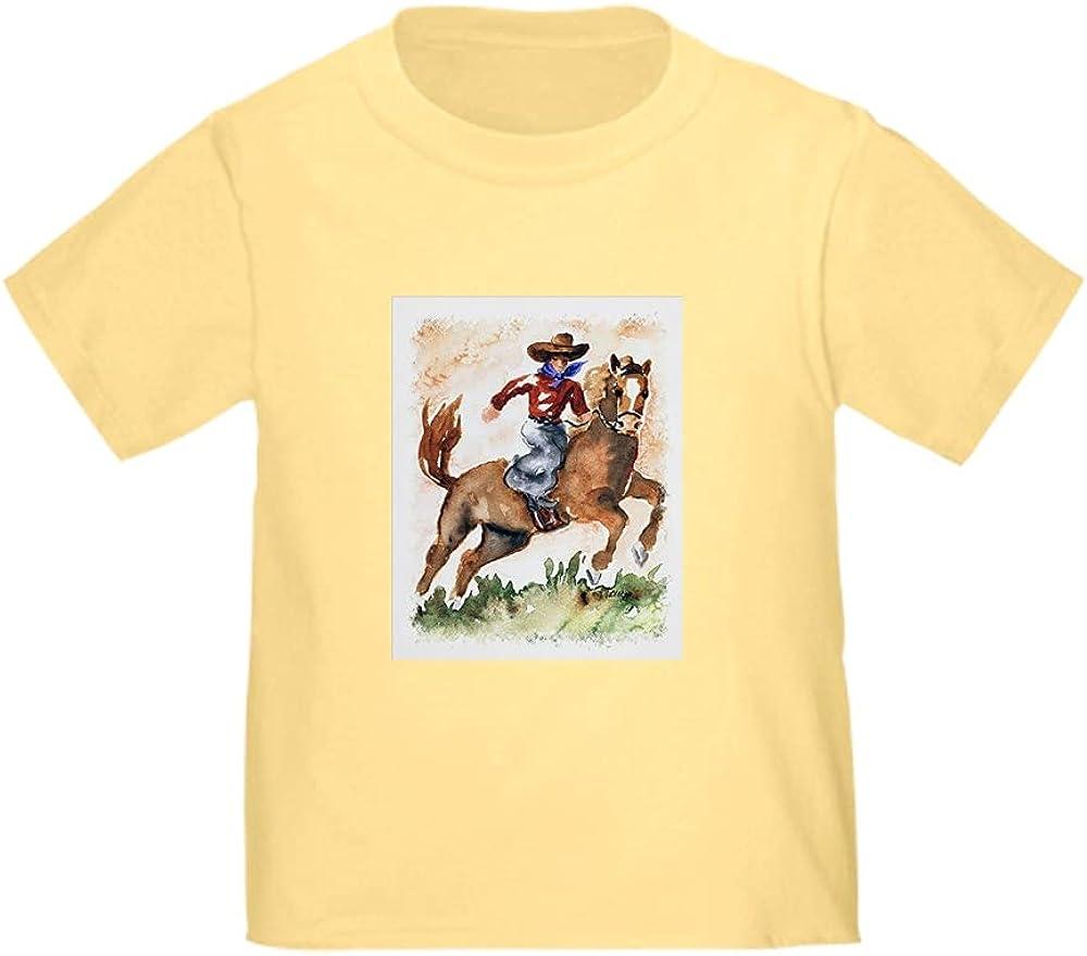 CafePress Cowboy On Horse Tee Washington Mall Toddler T Ultra-Cheap Deals Shirt