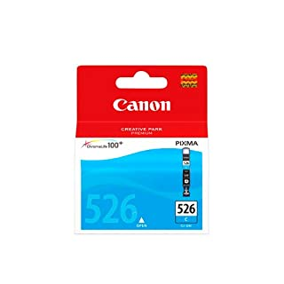 Canon CLI-526 C Cartucho de tinta original Cian para Impresora de Inyeccion de tinta Pixma MX715-MX885-MX895-MG5150-MG5250-MG5350-MG6150-MG6250-MG8150-MG8250-iP4850-iP4950-iX6550 (B003Y5OECI) | Amazon price tracker / tracking, Amazon price history charts, Amazon price watches, Amazon price drop alerts