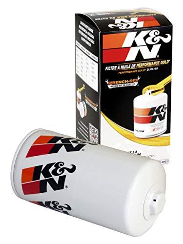 K&N Premium Oil Filter: Designed to Protect your Engine: Fits Select 1989-2019 RAM/DODGE/STERLING (Ram, 2500, 3500, 4000, 4500, 5500, D250, D350, W250, W350, Bullet 45, Bullet 55), HP-4003