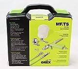 Grex MF.TS Tritium.TS5 Top Fed Micro Spray Gun Set 0.5mm with Bonus by SprayGunner