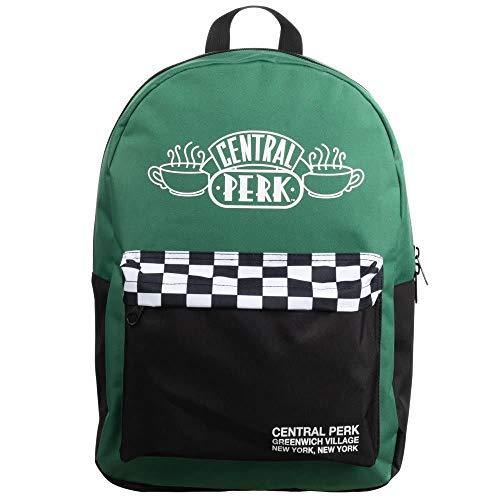 Friends TV Series Central Perk Checker Backpack