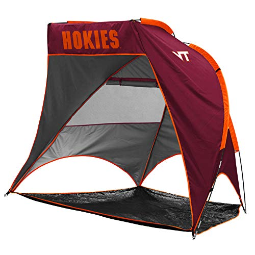 Logo Brands NCAA Virginia Tech Hokies Unisex Adult Retreat Cabana Tent, One Size, Multicolor