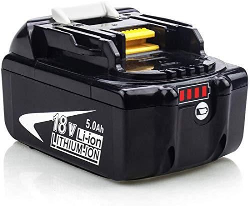Venghts BL1850B 5.0Ah Remplacement pour Makita 18V Batterie BL1860B BL1850B BL1860 BL1850 BL1840B BL1840 BL1830B BL1830 Bl1815 BL1820 Lxt-400 BL1845 avec Outils électriques sans Fil LED