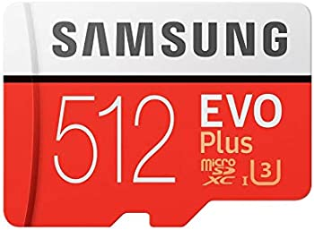Samsung Memory 512GB Evo Plus Micro SD Card with Adapter