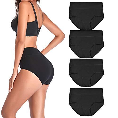 Amazon - Women's High Waist Cotton Underwear $9.99
