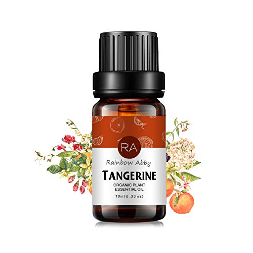 Tangerine Essential Oil (10ML), 100% Pure Natural Aromatherapy Tangerine Oil for Diffuser