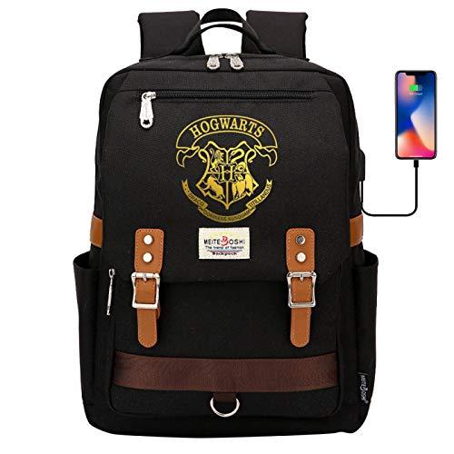 Hogwarts School Badge Backpack Children's Multifunctional Book Bag Adult Work Travel Rucksack 42X30X16CM #16